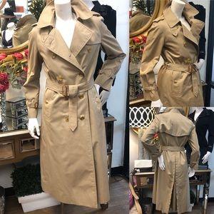 BURBERRY Khaki Trench Coat 8 Long